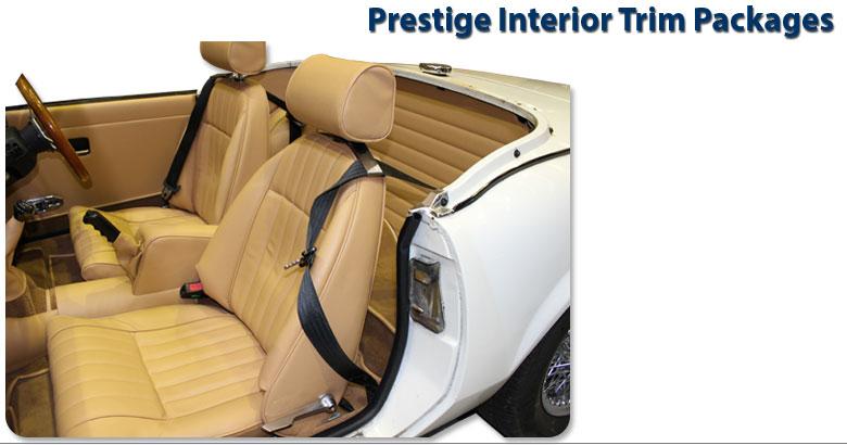 Triumph Spitfire Premium Bespoke Interior Trim Packages 1977 1980