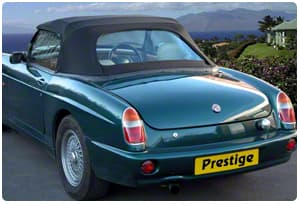 MG Car Hoods & Interior Trim - Prestige Autotrim Products Ltd