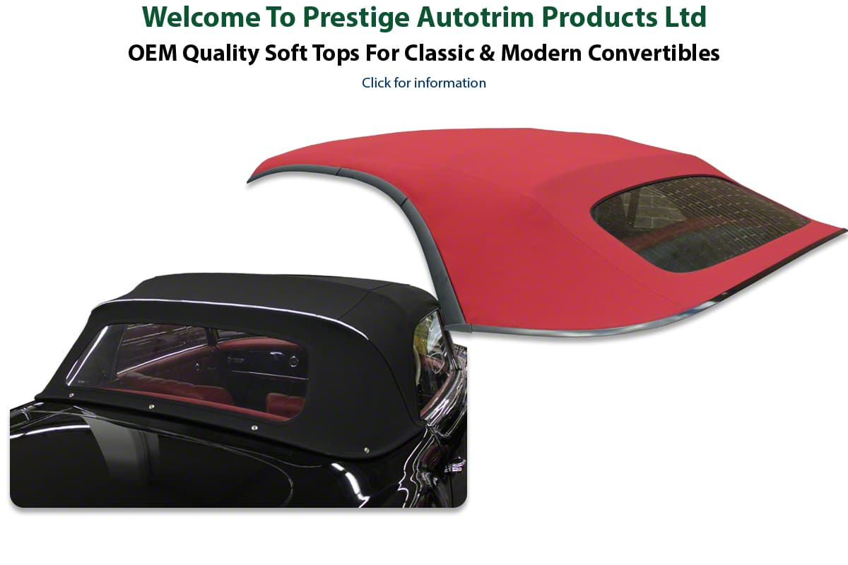 Prestige Autotrim Products Ltd - Premium Quality Car Hoods, Soft Tops, Convertible Tops, Roofs