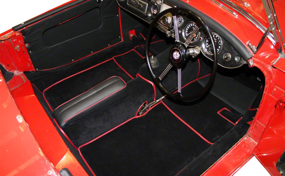 Mga 1956 1962 Premium Bespoke Interior Carpet Sets Prestige Autotrim Products Ltd