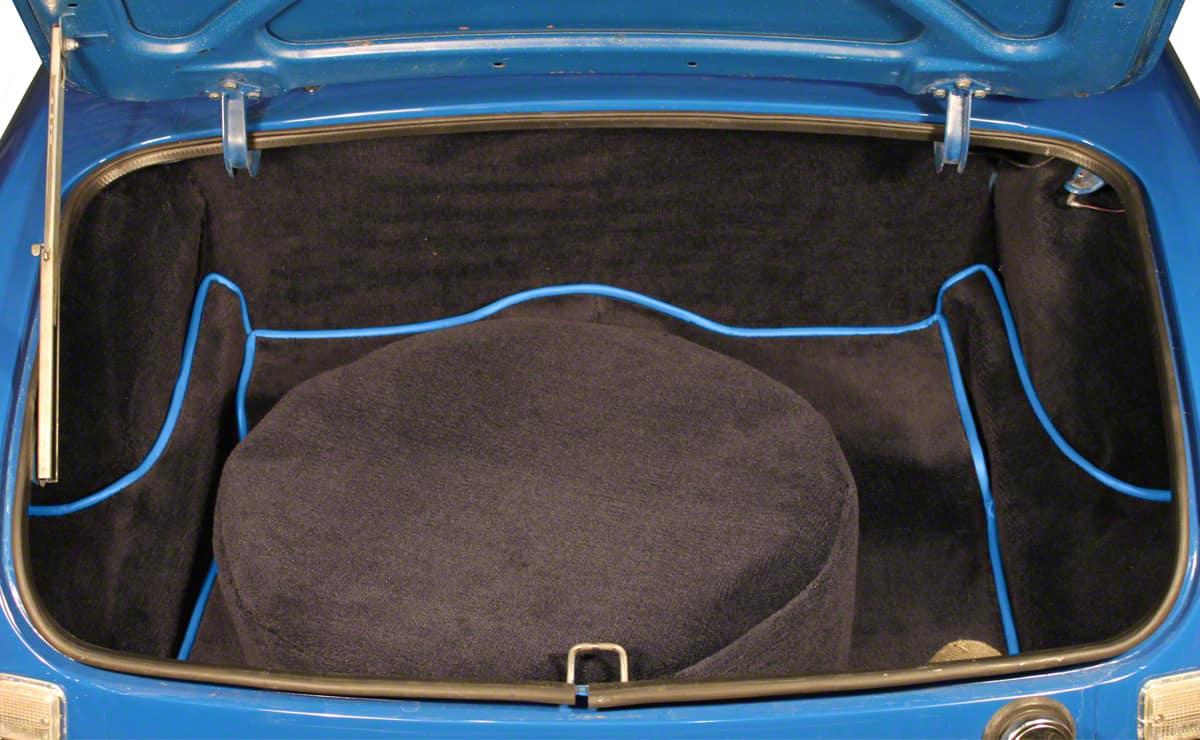 Mgb Roadster Boot Carpet Sets Enhanced Oe Range Prestige
