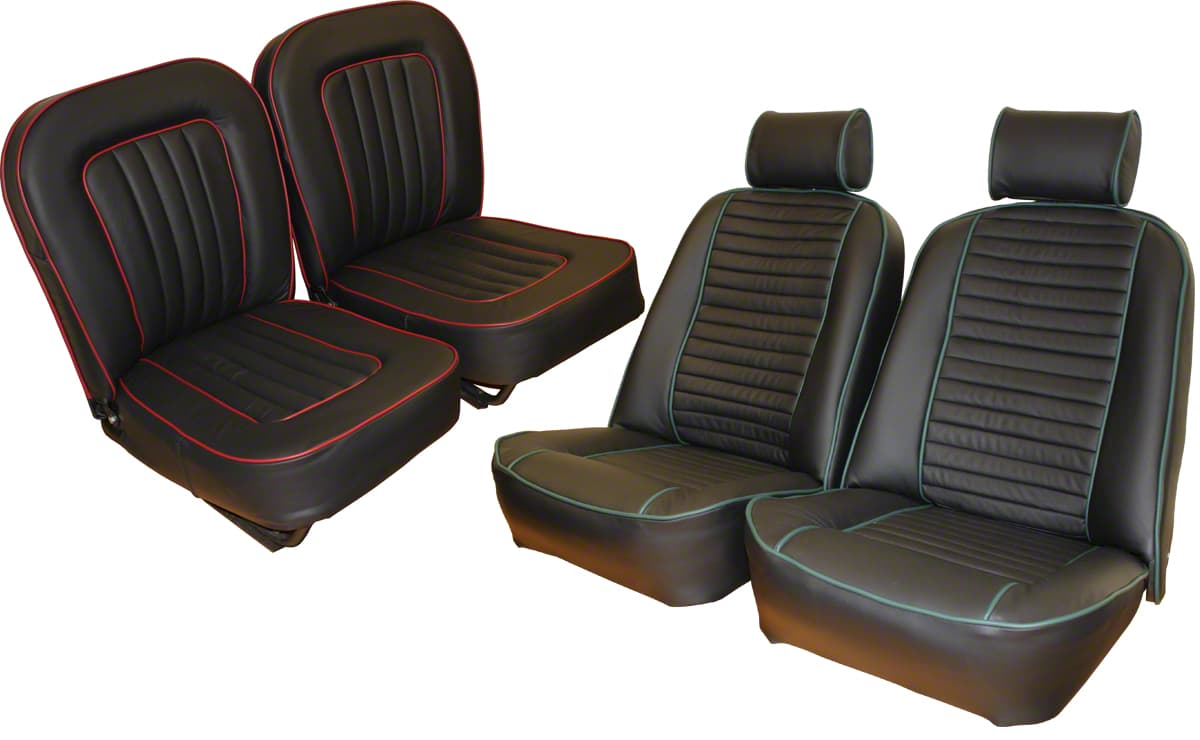 The Prestige Heritage Trim Shop - Full Connolly Leather Seat Re-Trim for MGA and TR6