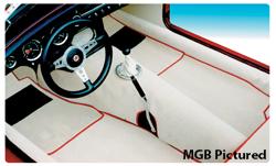 Mg midget carpet installation