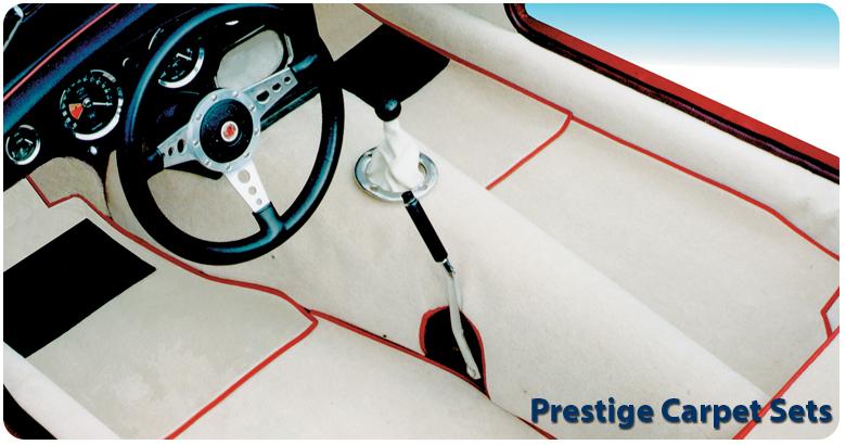 Triumph Tr3a Interior Carpet Sets
