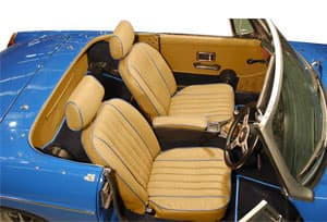 mgb gt 1962 1980 enhanced oe interior trim packages prestige autotrim products ltd. Black Bedroom Furniture Sets. Home Design Ideas