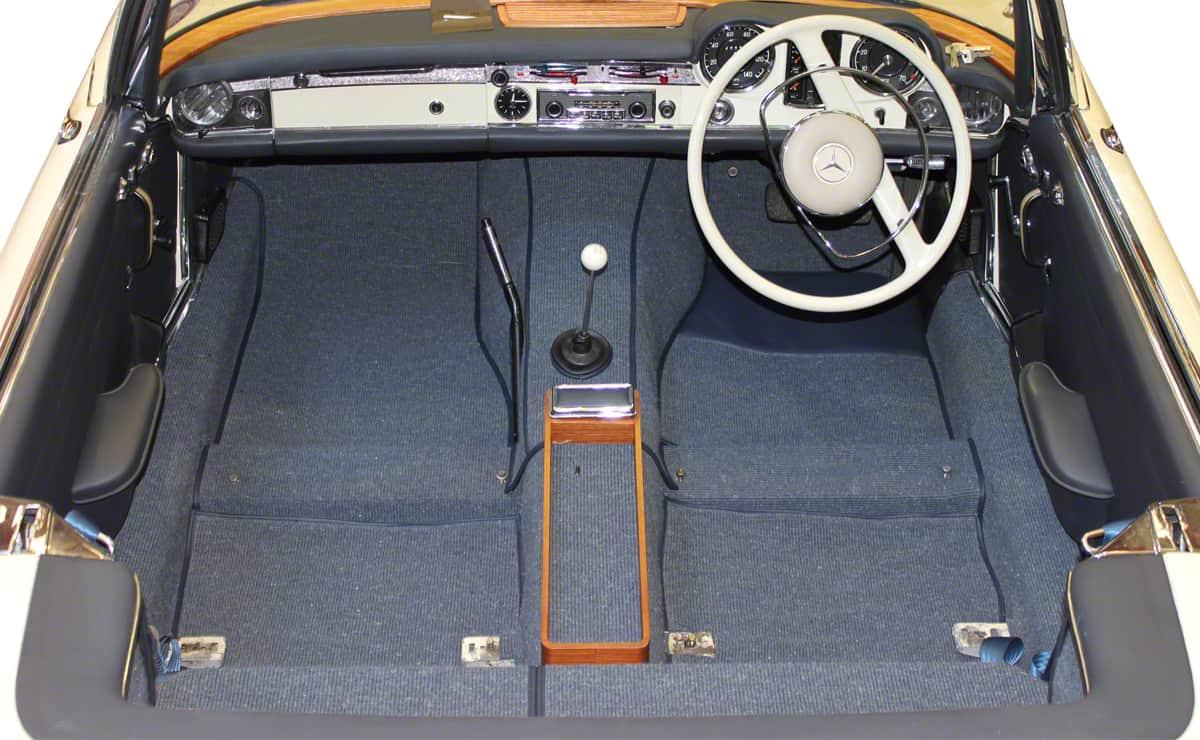 The Prestige Heritage Trim Shop - Factory Quality Mercedes W113 Interior Carpet Set