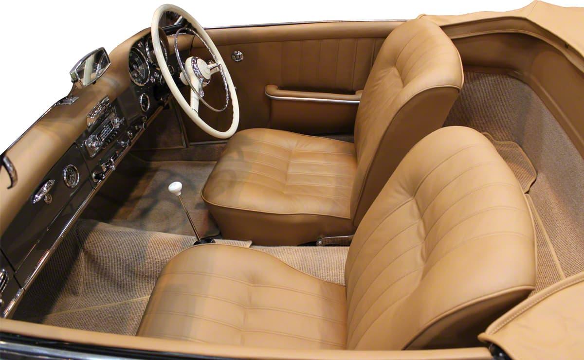 The Prestige Heritage Trim Show - Mercedes W121 190SL Factory Quality Re-Trim